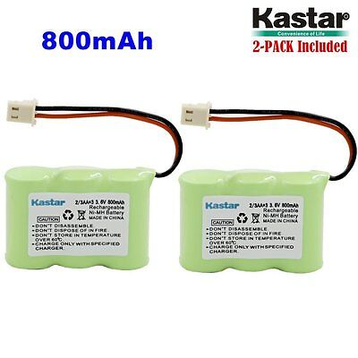 2 x 2/3AA 3.6V 800mAh Ni-MH Battery for Vtech BT-17333 BT-27333 CS2111 01839
