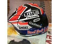 Shoei x Spirit 3 Marc Marquez Red Bull Design