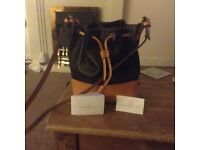 Ladies leather bag by Lamarthe