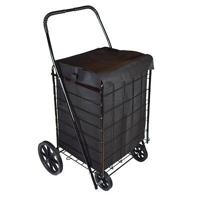Dlux D801sl Folding Shopping Cart Liner Large Black