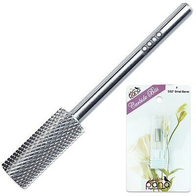 Professional Silver Small Barrel Nail Carbide Drill Bit Fine Grit