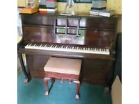 Chappell Piano and stool - Free to a good home