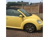 Convertible beetle low mileage