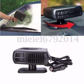 DC 12V 150W 2 in 1 Car Auto Ceramic Heater Cooler Dryer Fan Defroster Demister