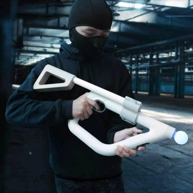 PSVR Playstation VR Aim Controller Shoulder Stock Attachment Gun for  FIREWALL | in Bolton, Manchester | Gumtree