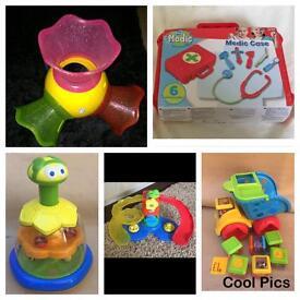 Toys £2 each