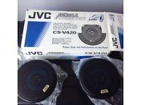 JVC car speakers 60 w max