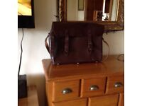 H.Fine and Sons leather tool bag
