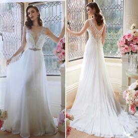 Sophia Tolli Augusta Wedding Dress - Size 12