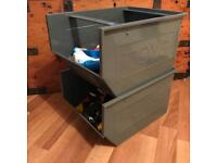 Toy storage boxes industrial style