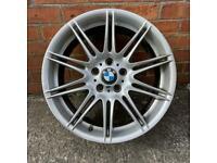 """1x 19"""" GENUINE BMW E92 E91 E90 3 SERIES 225 FRONT ALLOY WHEEL SPARE REPAIRS SINGLE"""