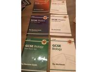 All sciences gcse revision guides RRP £35.70