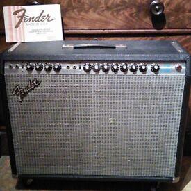 Fender pro reverb amplifier 1980
