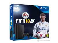 Ps4 1tb and fifa 18 new