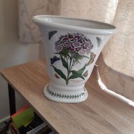 Portmeirion Botanic Garden Vase Dianthus Sweet William Pedestal Flared