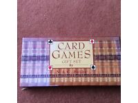 Card Games gift set