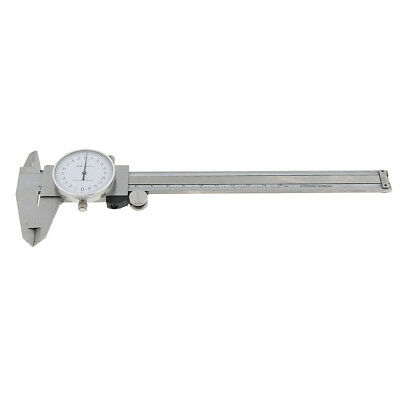 Stainless Steel Dial Caliper Vernier Caliper 4-way Measurement Gauge 0-150mm