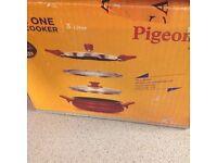 Pigeon 3 in 1 cooking pot ,pressure cooker ,steamer