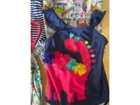 Girls swimming costume bundle age 8 Boden and John Lewis