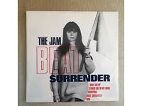 THE JAM Beat Surrender 12 INCH ORIGINAL 1982. MINT.