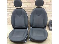 Mini front seats.