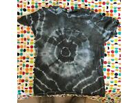 "Daniel Johnston ""Hi How Are You"" Tie Dye t-shirt"