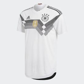 Genuine Germany Home Shirt 2018 BNWT