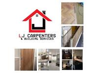 LJ Carpenters and building services.