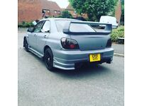 Subaru Impreza WRX Turbo ReMAPPED FULL MOT