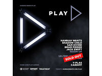 3 x Tickets to the SOLD OUT Hannah Wants - Play Tour