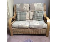 Conservatory 3 piece suite ex con really comfortable . Purchased from A L Jenkins .
