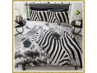 Zebra Duvet