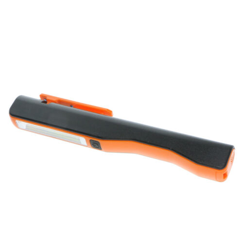 Battery Operated LED Torch Magnetic Pocket Work Light Inspec