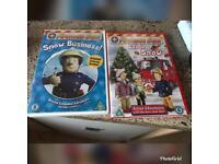 2x fireman sam dvds