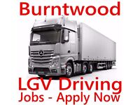 Urgently Required for Cannock Walsall, Stafford Area HGV Class 1 Lorry LGV Driver