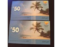 REDUCED PRICE THOMAS COOK HOLIDAY VOUCHERS