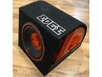 """Edge 10"""" sub & amp"""