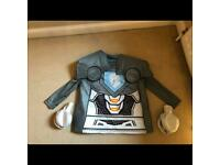 Halloween Lego nexo knights costume with shoulder pads