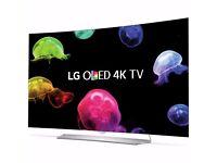 LG 55EG920V 55 Inch 4K Ultra HD Freeview HD Smart WiFi 3D Curved OLED TV 24 MONTHS WARRANTY