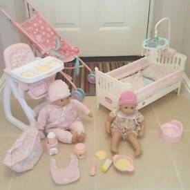 Baby Doll Set - Inc. Baby Annabell