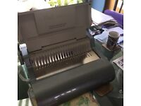 Fellowes quasar 500 binding machine