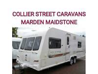 2012 Bailey unicorn Barcelona fixedbed caravan Maidstone Kent