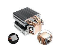 CPU cooler Fan bracket for Intel 1156/1155/1150/775. 6 Heatpipes