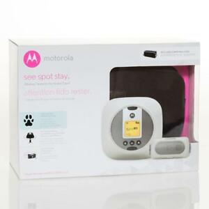 NEW Motorola Pet WIRELESSFENCE25 Wireless Fence for Home or Travel Open Box