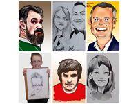 Caricatures Belfast/Caricaturist for hire, Belfast, Northern Ireland
