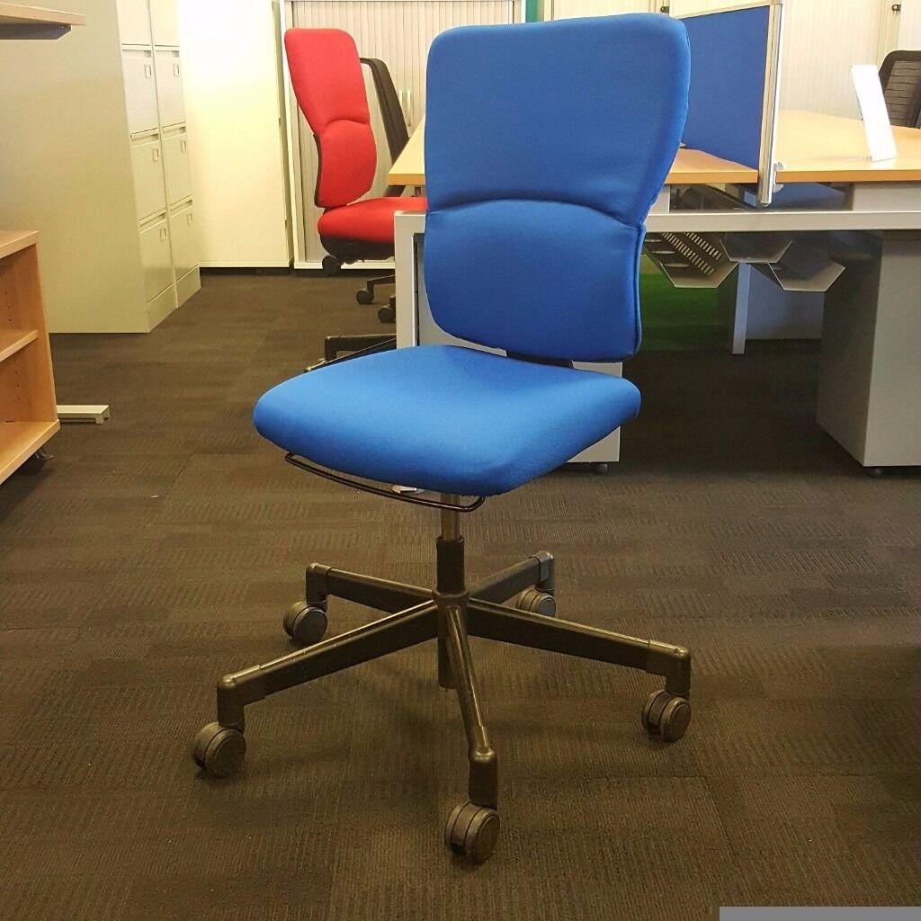 Steelcase Operators Chair Blue