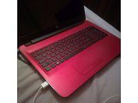 """HP 15-ba079sa 15.6"""" Laptop 1TB Memmory 4gb Ram- Almost New - Red-Boxed"""