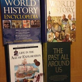 4 Readers Digest HISTORY BOOKS.£20
