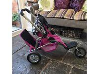 Mamas & Papas dolls 3 wheel stroller