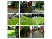 Garden services & maintenance . hedge cutting . trees & conifer . grass cutting . jet washing .uPVC